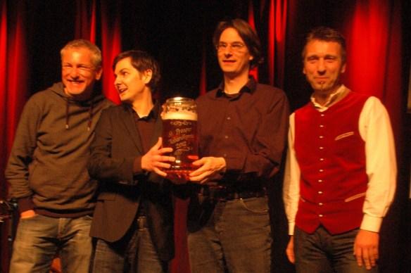 Preisübergabe des St. Prosper Kabarettpreises mit Bayern 3 Moderator Matthias Matuschik