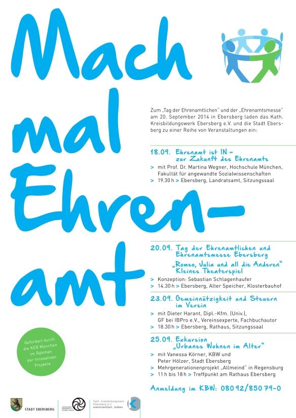 Mach mal Ehrenamt_Plakat