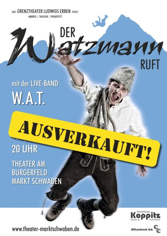 Plakat _Markt Schwaben_ausverkauft